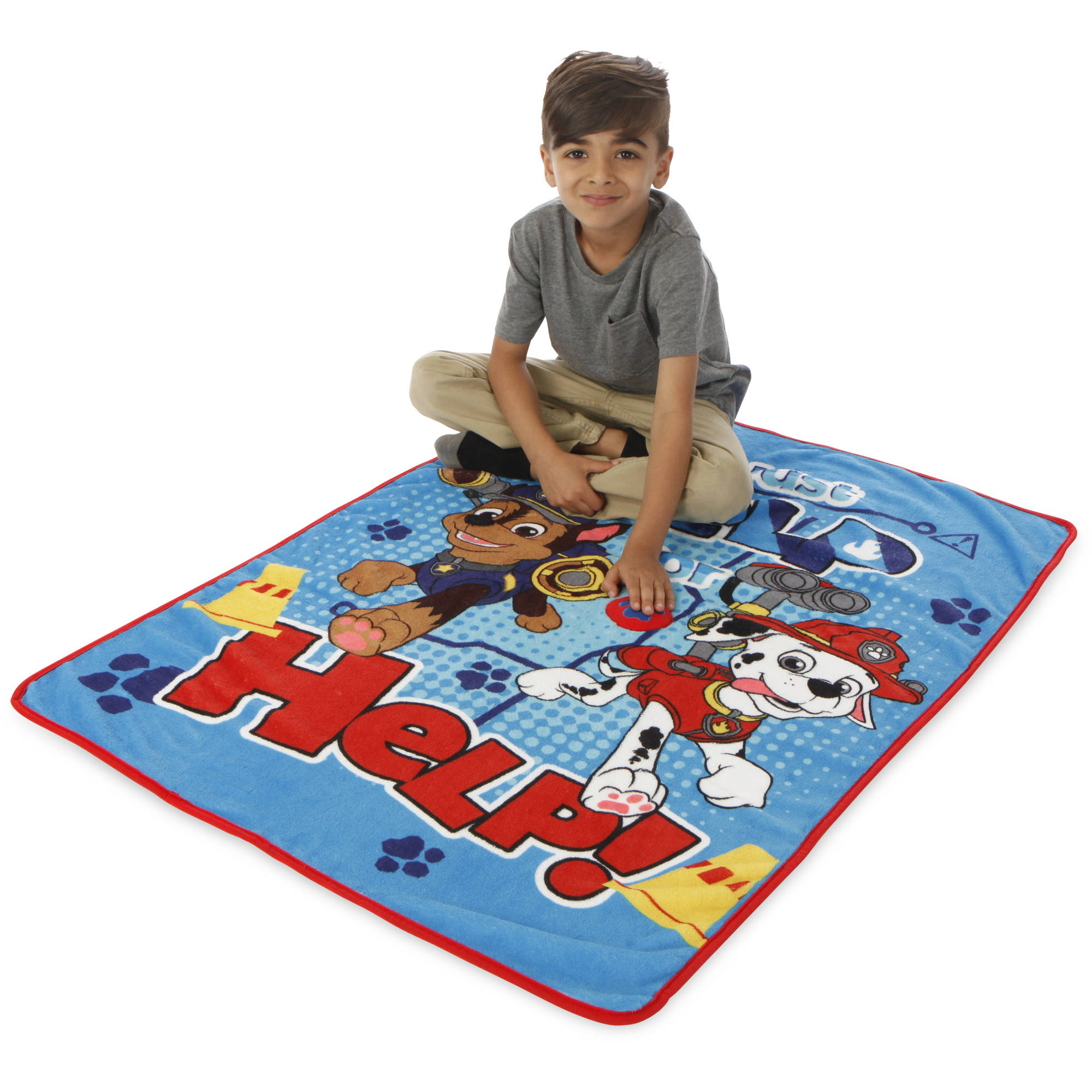 Paw Patrol Toddler Blanket with Sound