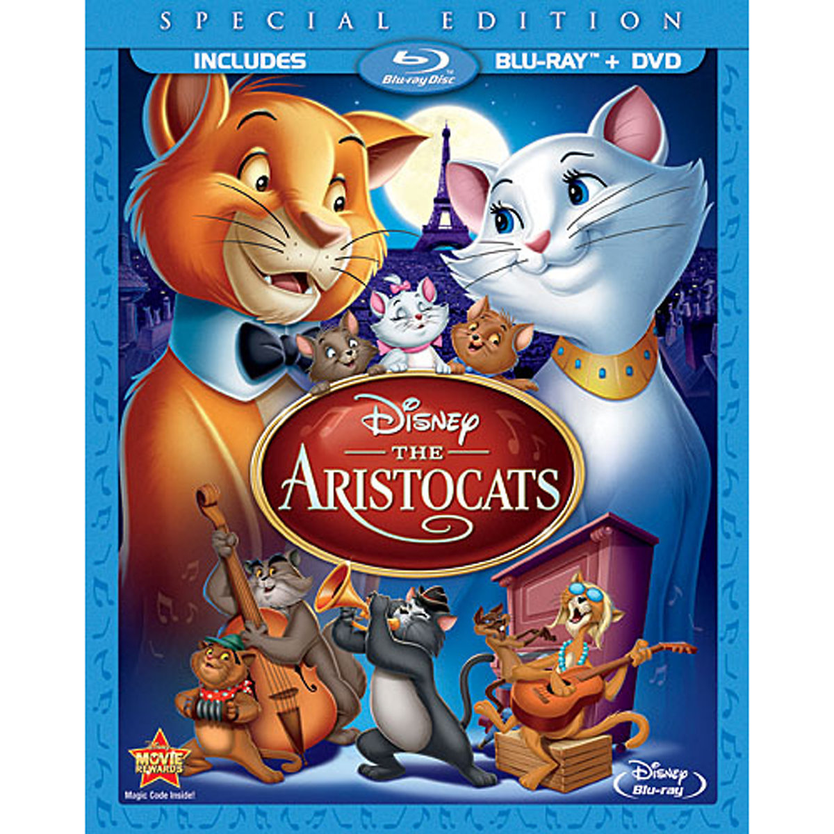 The Aristocats (Special Edition) (Blu-ray + DVD)