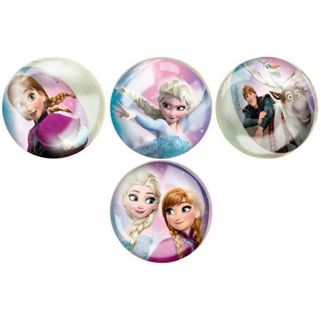 Disney Frozen Bouncy Ball Party Favors, 4ct - Frozen Party Favors Ideas