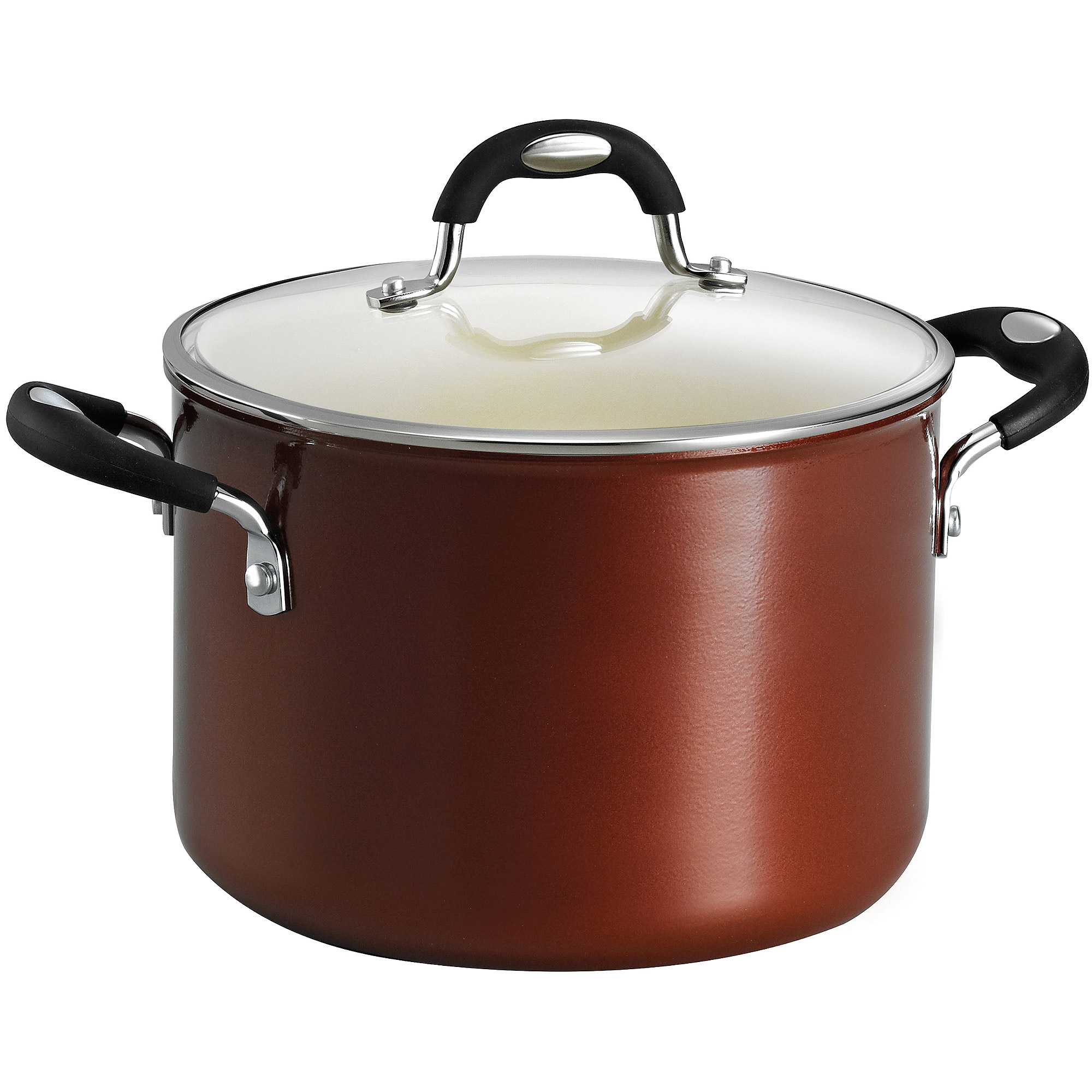 Tramontina Style 6-Quart Ceramic Nonstick Covered Stock Pot
