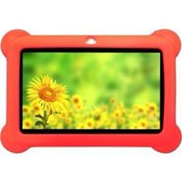 "Zeepad Kids Android 4.4 Quad Core Five Point Multi Touch 7"" Tablet - Red"