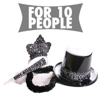 starry nights new years party kit for ten