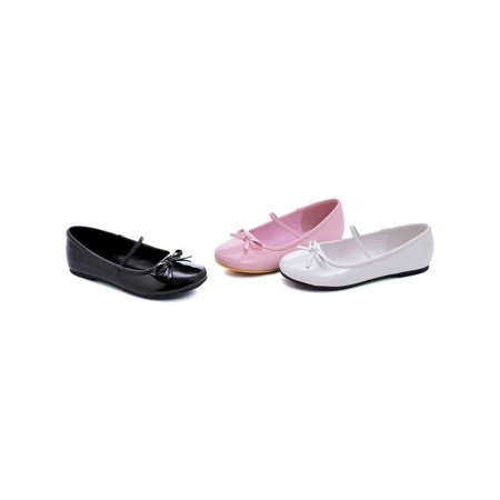 Ellie Shoes E-013-Ballet 0 Heel Ballet Slipper Childrens M [13/1 USA childs] / Black](Childrens Dress Shoes)