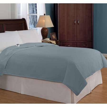 SoftHeat&#153 Micro Fleece Electric Blanket - Beige (Full)