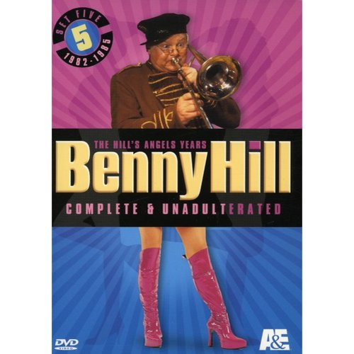 Benny Hill Complete and Unadulterated - The Hill's Angels Years, Set Five dvd