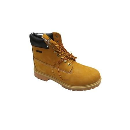 Masimo Capori Mens Full Suede Lace Work Boot