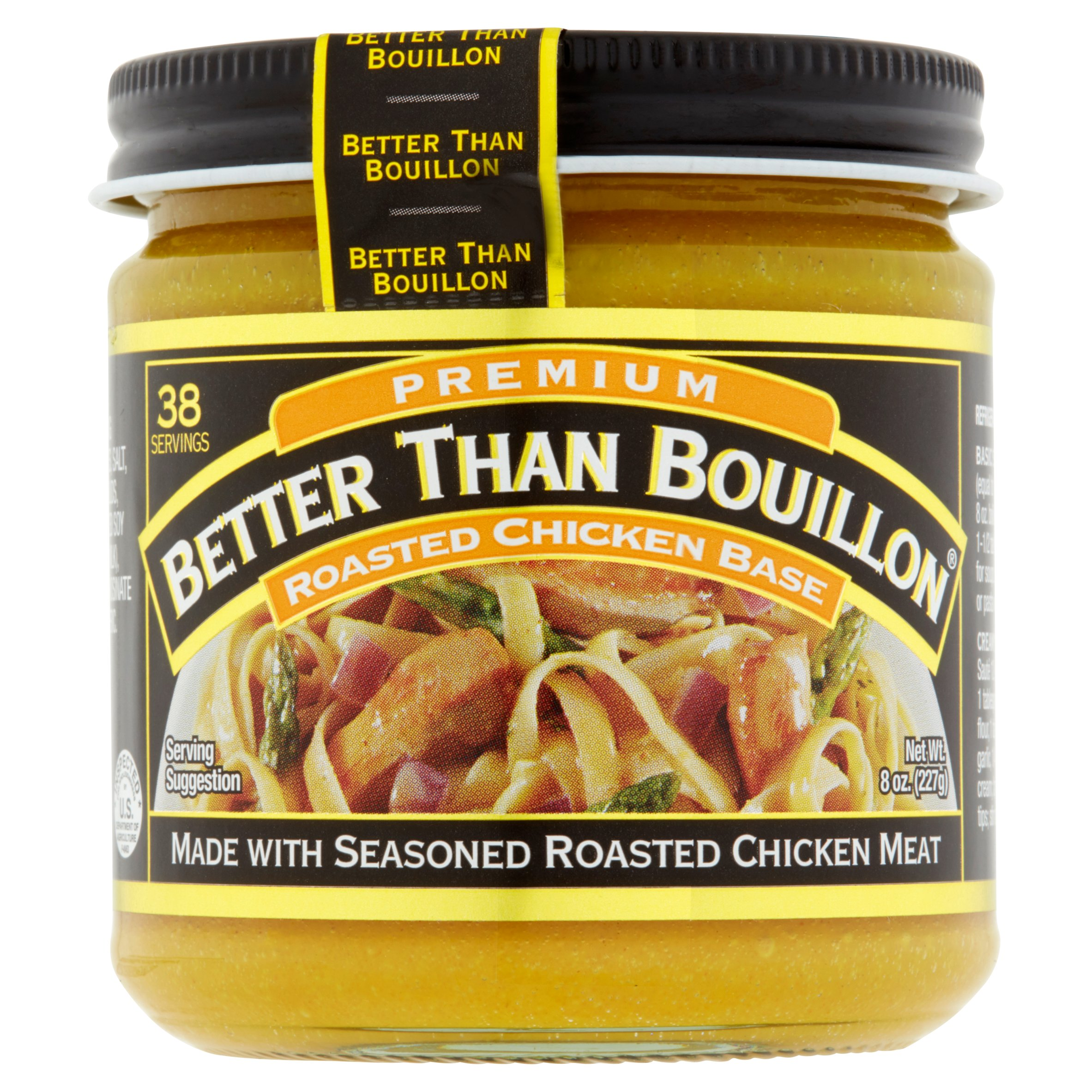 Better Than Bouillon Premium Roasted Chicken Base, 8 oz