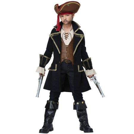 Deluxe Captain Swashbuckler Child Costume