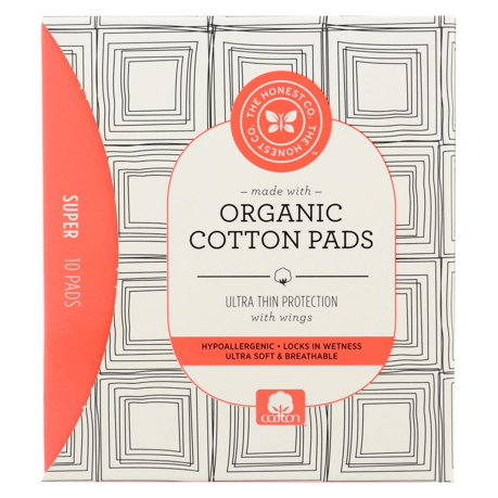 The Honest Company Cotton Pads Heavy 10 Count
