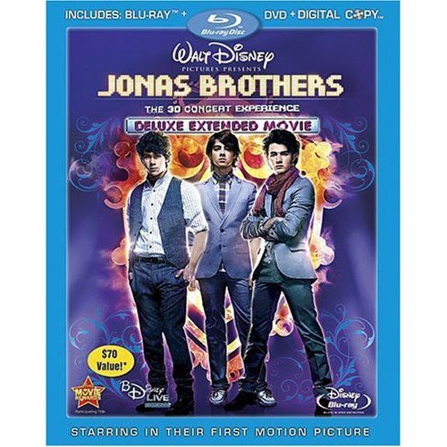 Jonas Brothers: The 3-D Concert Experience (Blu-ray   DVD) (Widescreen)