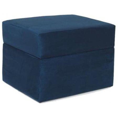 newco international 45016 devon ottoman blue micro