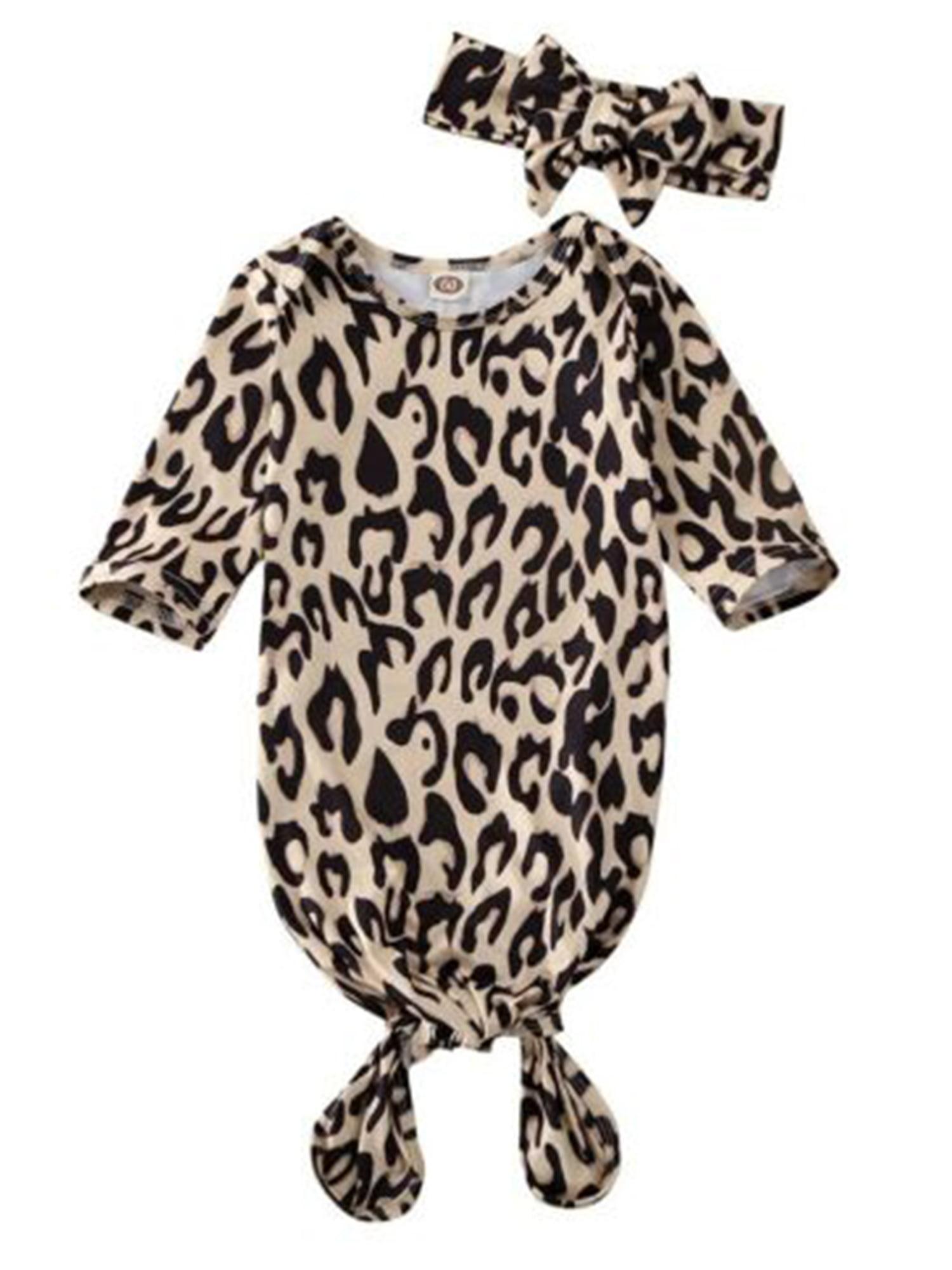 Unisex Newborn Baby Sleepwear Nightgrowns Swaddle Wrap Blanket Sleeping Bag+Headband Outfit Set