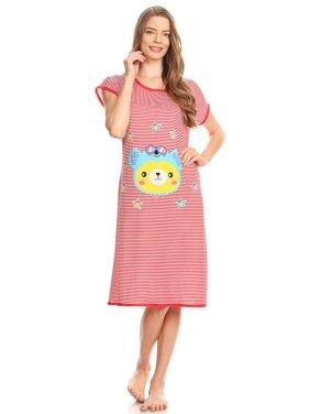 a7464f4b3c Product Image Z5012 Womens Sleepwear Pajamas - Woman Sleeveless Sleep  Nightshirt Red 52 XXL