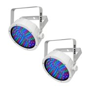 NEW! (2) Chauvet SlimPar 56 LED DMX Slim Par Can Stage DJ RGB Lighting Effects