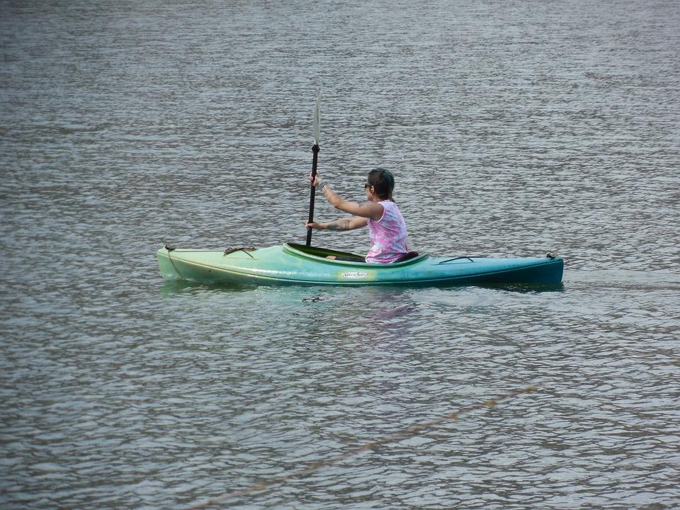 Kayaking Canoe Water Adventure Sport Kayak Poster Print 24 x 36 by