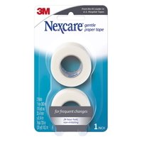 Nexcare Gentle Paper Medical Tape, Pack of 2, White
