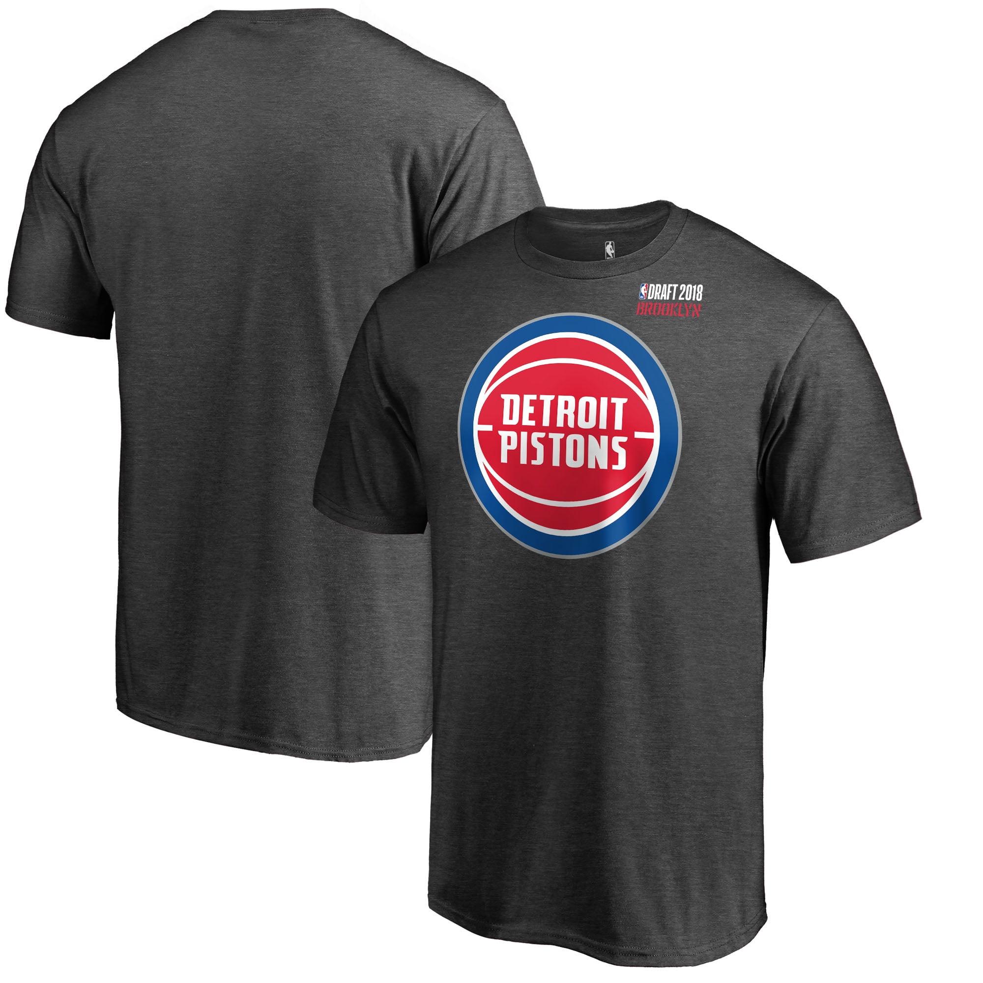 Detroit Pistons Fanatics Branded 2018 NBA Draft BKLYN T-Shirt - Heather Gray
