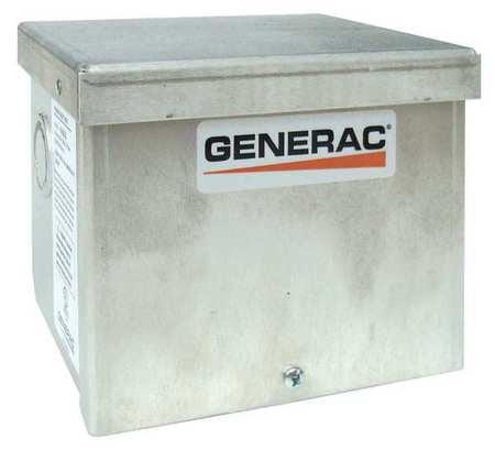 Generac 6344 50 Amp Power Inlet Box, Wall Mount