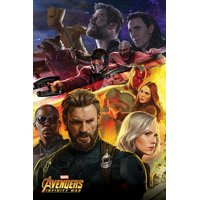 "Avengers: Infinity War - Movie Poster / Print (Rocket, Groot, Loki, Star-Lord, Captain America, Black Widow...) (Size: 24"" x 36"")"