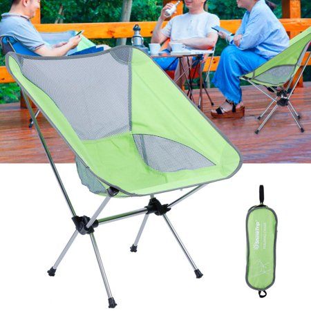 Yosoo Portable Camping Chair,Portable Folding Aluminum Alloy Chair for Outdoor Fishing Camping Barbecue Picnic,Camping Chair ()