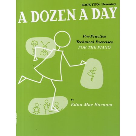 A Dozen A Day: Pre-Practice Technical Exercises For The Piano [Book 2 Elementary] (Paperback)