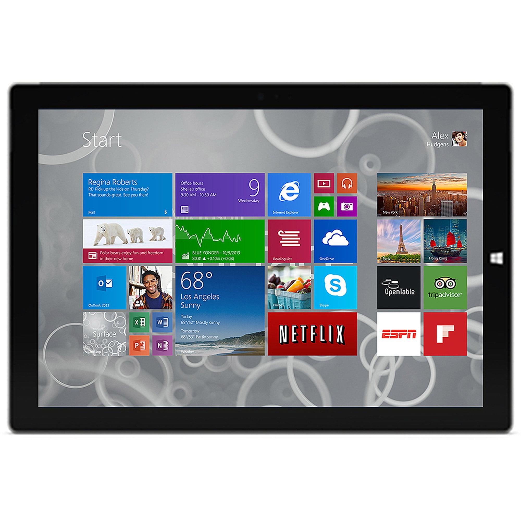 Microsoft Surface Pro 3 512GB Windows 8.1 Pro (Eligible for Free Windows 10 Upgrade) Intel Core i7