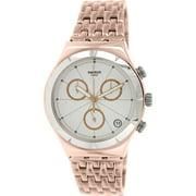 Swatch Men's Irony YCG408G Rose Gold Stainless-Steel Swiss Quartz Fashion Watch
