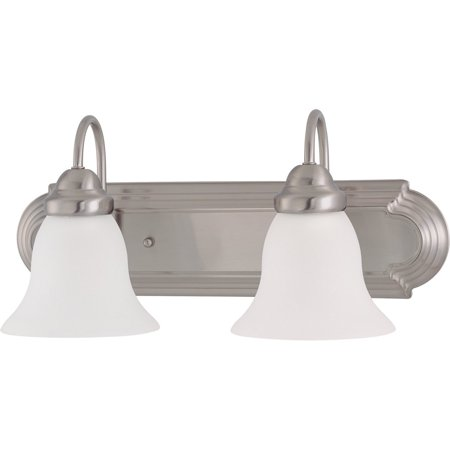 "Nuvo Lighting 60/3278 Ballerina 2 Light 18"" Wide Vanity Light with Frosted White"