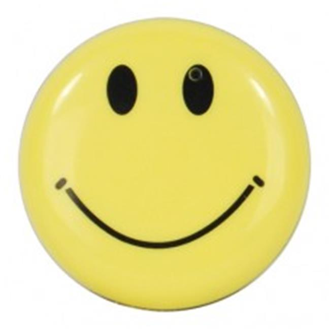 Safety Technology HC-SMILE-DVR Mini Clip On Smiley Face Button Spy Hidden Camera with Built in DVR - image 1 of 1