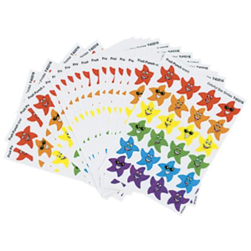 Trend Stinky Stickers T-83904 Variety Pack - Smiley Star - Assorted (T83904)