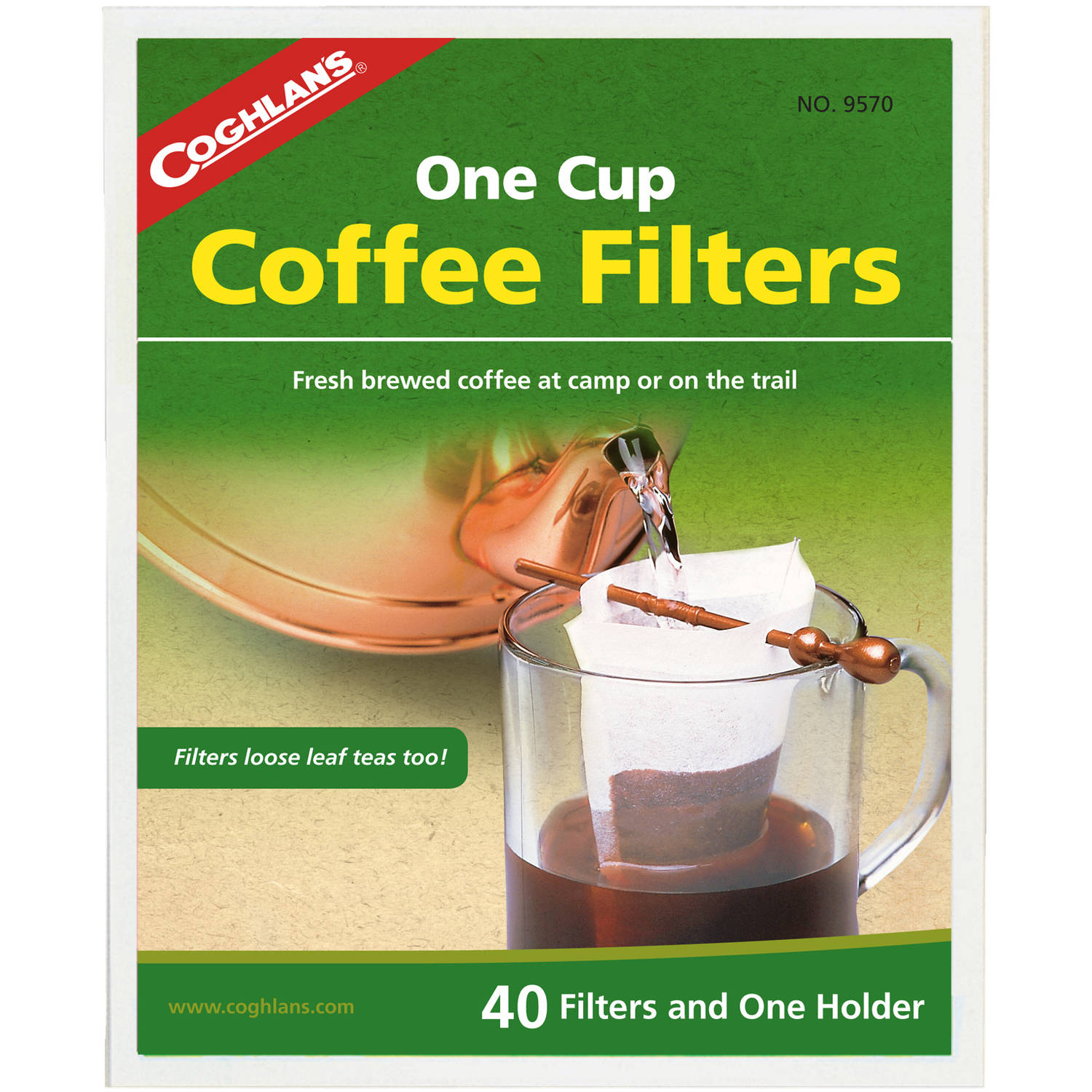 Coghlan's One-Cup Coffee Filters by Generic