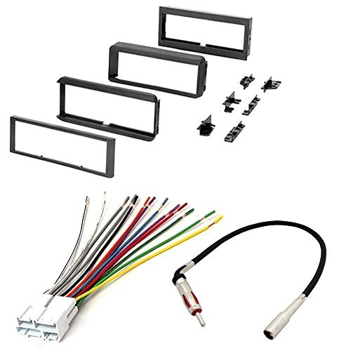 CHEVROLET 1998 - 2001 BLAZER CAR RADIO STEREO RADIO KIT DASH INSTALLATION MOUNTING W/ WIRING HARNESS AND RADIO ANTENNA ADAPTER