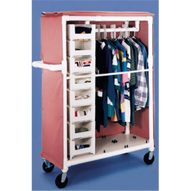 IPU SLC333 Adapt-A-Cart with 5; Heavy-duty Casters