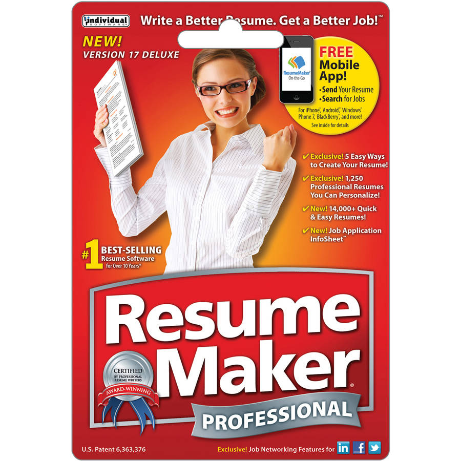Individual ResumeMaker Pro 17 $29.99 eGift Card (Email Delivery)