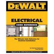 DeWalt 9781111545482 Electrical Book, English