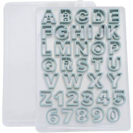 sweet creations by good cook mini alphabet and numeric With mini fondant letter cutters