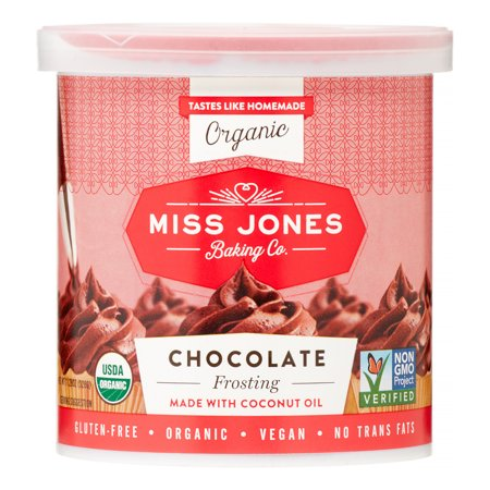- Miss Jones Organic Frosting, Chocolate, 11.29 Oz, 1 Count