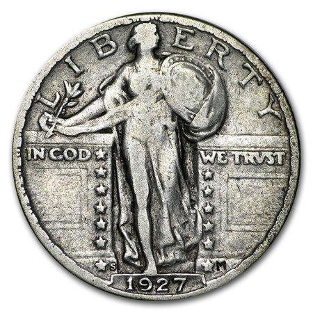 - 1927-S Standing Liberty Quarter VF