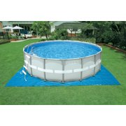 intex 16 x 48 ultra frame swimming pool set w 1200 gph sand