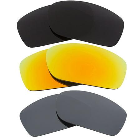 Seek Optics - Best SEEK Polarized Replacement Lenses Oakley FIVES SQUARED  Black Yellow Silver - Walmart.com 71b1d6e2ad03