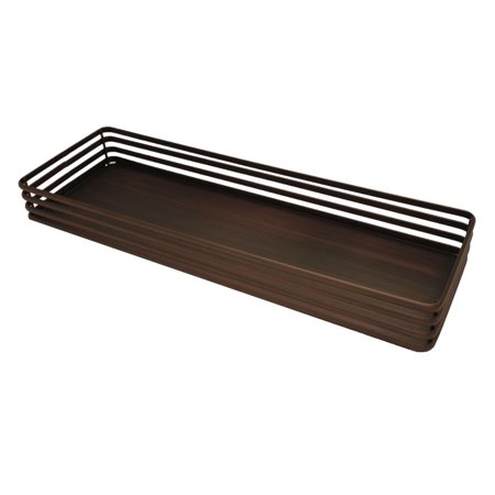 Linear Vanity Tray In Oil Rubbed Bronze