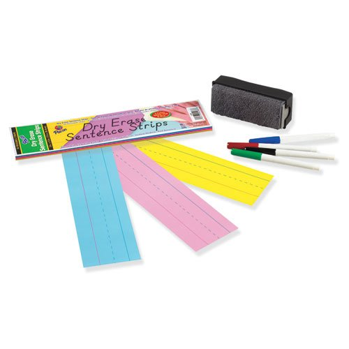Pacon Corporation Dry Erase Sentence Strip Notepad