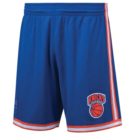 New York Knicks Mitchell & Ness Hardwood Classics Swingman Shorts - Royal