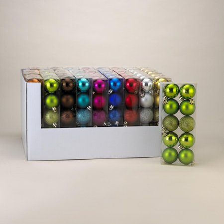 Club Pack of 270 Bright Multi-Color 3-Finish Shatterproof ...