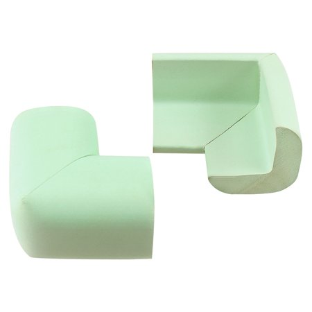 Light Green Foam Table Desk Corner Edge Guard Pad Protective Cushion Cover