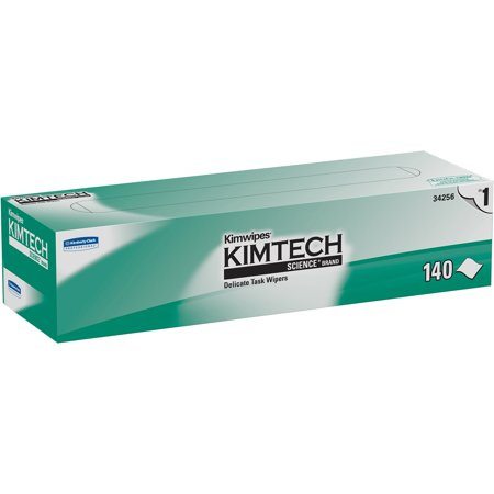 Kimwipes Delicate Task Kimtech Science Wipers (34256), White, 1-Ply