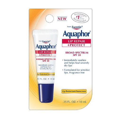 Aquaphor Lip Repair Plus Protect, Broad Spectrum Spf 30 - 0.35 Oz