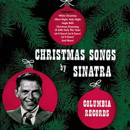 Christmas Songs By Frank Sinatra (CD)