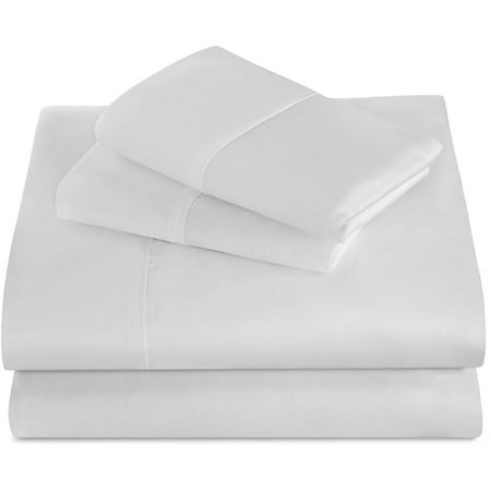 Best Night's Sleep 440 Thread Count 100% Supima Cotton Sheet Set-White-Cal King (Night's King)