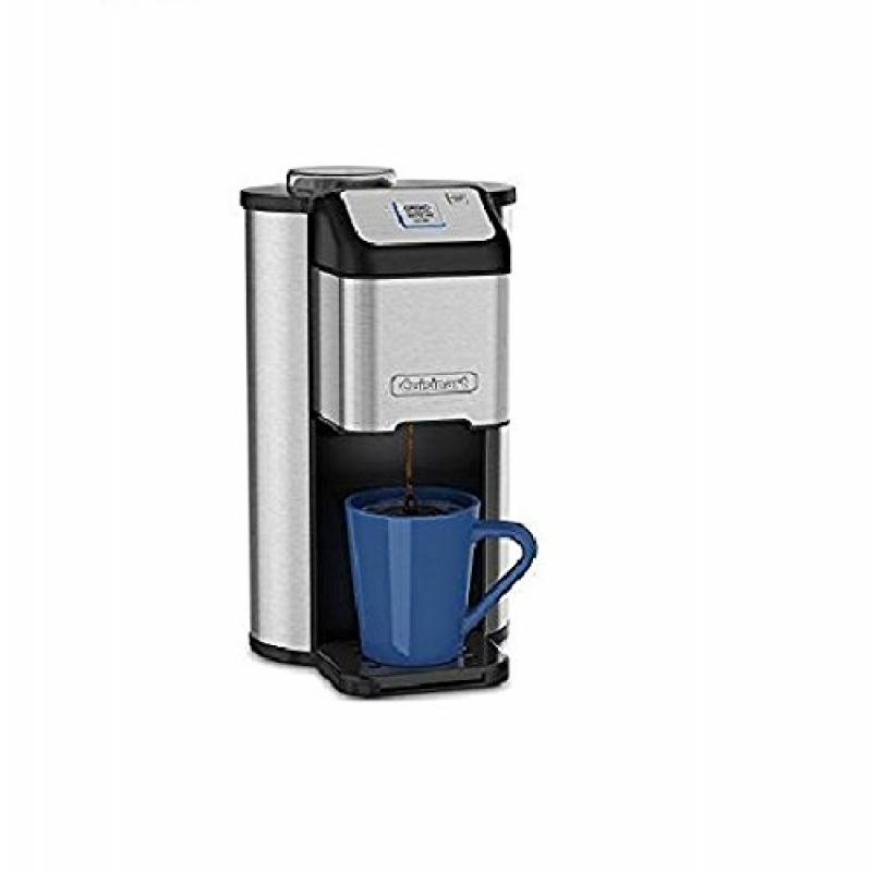 Cuisinart Single Cup Grind & Brew Coffeemaker With Automa...